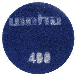 "Part # 1763 Weha 17"" Thick Diamond Floor Polishing Pad 400 Grit"