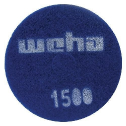 "Part # 1765 Weha 17"" Thick Diamond Floor Polishing Pad 1500 Grit"