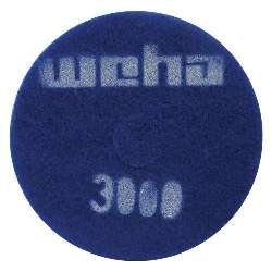 "Part # 1766 Weha 17"" Thick Diamond Floor Polishing Pad 3000 Grit"