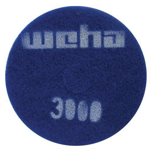 3000 grit 17 thick diamond floor polishing pad for 17 floor buffer pads