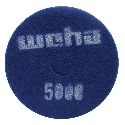"Part # 1767 Weha 17"" Thick Diamond Floor Polishing Pad 5000 Grit"