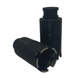 "Part#  20140 Weha 1 3/4"" High Speed Dry Core Bit Interior & Exterior Diamonds"