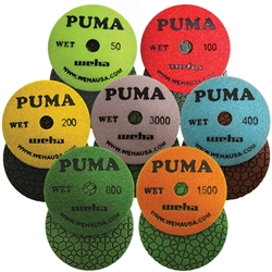 "4"" PUMA Wet Polish pad"