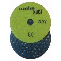 Dry Diamond Polishing Pad, 50 Grit Dry Diamond Polishing Pad, Granite Dry Polishing Pad Part # 40450