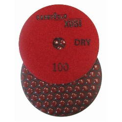 Dry Diamond Polishing Pad, 100 Grit Dry Diamond Polishing Pad, Granite Dry Polishing Pad Part # 40451