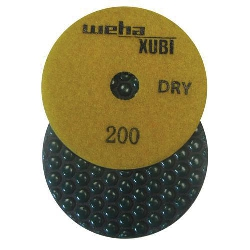 Dry Diamond Polishing Pad, 200Grit Dry Diamond Polishing Pad, Granite Dry Polishing Pad Part # 40452
