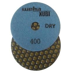 Dry Diamond Polishing Pad, 400 Grit Dry Diamond Polishing Pad, Granite Dry Polishing Pad Part # 40453