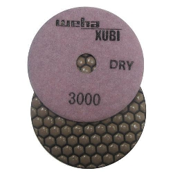 Dry Diamond Polishing Pad, 3000 Dry Diamond Polishing Pad, Granite Dry Polishing Pad Part # 40456