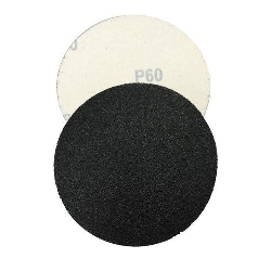 "5"" Velcro Silicon Carbide Sandpaper 60 grit Box of 100 Part # 4422"