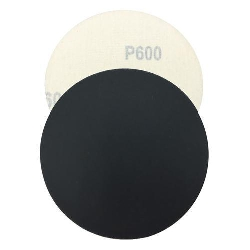 "5"" Velcro Silicon Carbide Sandpaper 600 grit Box of 100 Part # 4428"