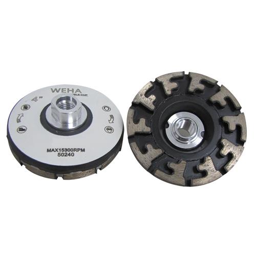 Aggressor Cup Wheel Coarse Flexible Silent Diamond Cup