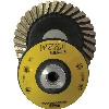 "Part#  50255 Weha 5"" Rubber Diamond Cup wheel - Coarse"
