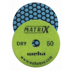 Honeycomb Polishing Pads, Matte Finish Dry Granite Polishing Pads part # 50408