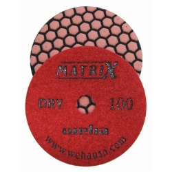 Granite Dry Polishing Pads, Honeycomb Matte Granite Pads, Honeycomb Granite Polishing Pads part # 50409