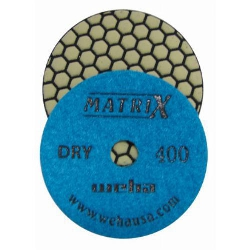 Polishing Granite Dry, Dry Honeycomb Diamond Polishing Pads, Dry Polishing Stone, 400 Grit part # 50411