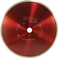 "Part # 51510 Weha 10"" x 1"" Continuous Rim Blade"