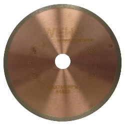 "8"" Copper Core Diamond Blade, Copper Core Glass Blade, Copper Core Porcelain, Part # 51552"