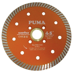 "4.5"" Granite Turbo Blade, Granite Diamond Turbo Blade, Engineered stone Quartz Blade part # 5301"