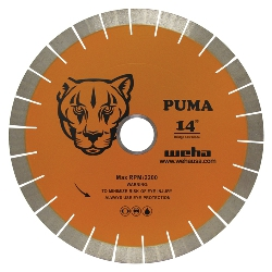 25mm Granite Bridge Saw Blade, Quartz Stone Bridge Saw Blade, Diamond Bridge Saw Blade Puma part # 5307