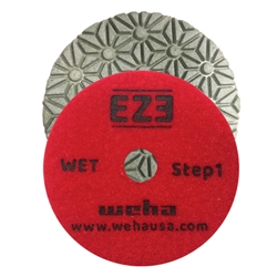 EZ3 3 Step Granite Quartz Wet Polishing Pad Step 1, 3 Step Quartz, 3 Step Quartzite, Part #60451
