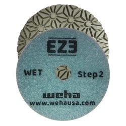 EZ3 3 Step Granite Quartz Wet Polishing Pad Step 1, 3 Step Quartz, 3 Step Quartzite, Part #60452
