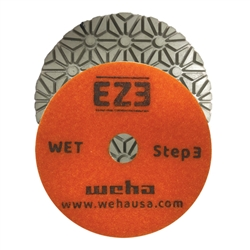 EZ3 3 Step Granite Quartz Wet Polishing Pad Step 1, 3 Step Quartz, 3 Step Quartzite, Part #60453