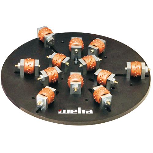 Peachy 12 Roller Stock Master Plate With 45 Bit Rollers Beutiful Home Inspiration Semekurdistantinfo