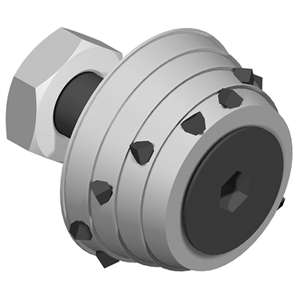 12 Bit Replacement Conic Roller