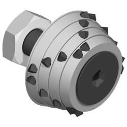 24 Bit Replacement Conic Roller