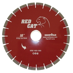 "16"" Granite Bridge Saw Blade, 16"" Quartz Bridge Saw Blade, 14"" Granite Miter Part #71416"