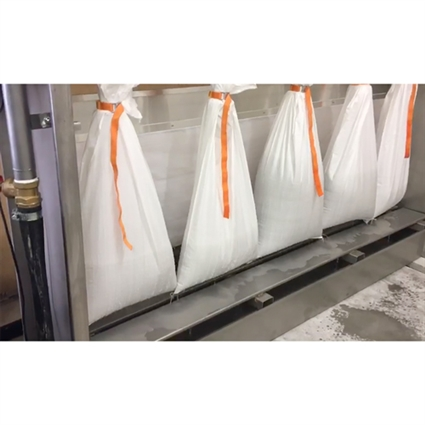 "Sludge Dehydrator Waste Bags, White Replacement bags for Sludge Dehydrators 29"" x 49"" Part#  7240032"