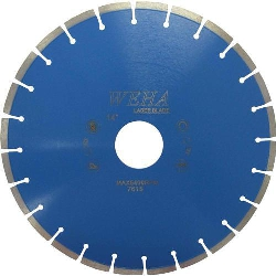 "Part#  7615 Weha Low Horsepower 14"" Diamond Rail Saw Blade Low HP Weha"