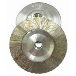 Diamond Flap Disc Cup Wheel 200 grit 4 inch Weha Part # 7652
