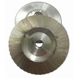 Diamond Flap Disc Cup Wheel 400 grit 4 inch Weha Part # 7653