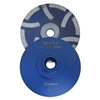 "Part#  7680 Weha 4"" Resin Fill Cup wheel Coarse"