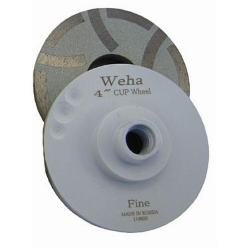 4 Quot Resin Fill Diamond Cup Wheel Fine Grit Granite Fine