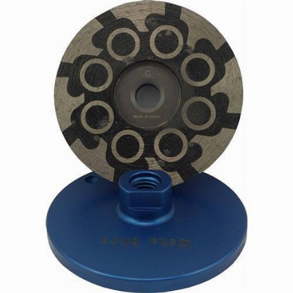 "Part#  7685 Weha Blitz 4"" Resin Filled Cupwheel-Coarse"