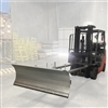 Fork Lift Snow Plow Attachment, Forklift Snow Plow, Fork Truck Snow Plow Part # 8010155