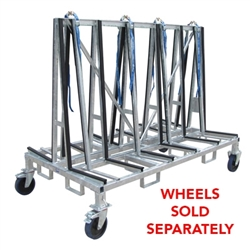 Granite Transport A Frame Cart, Granite Transport Rack 96 inch Part#  128318 #8010480 Weha