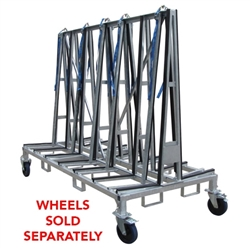 Granite A Frame Double Sided Transport Cart Large 8 Ft Stone