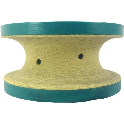 Part#  8060 Oma Pos 4 3cm V Full Bullnose Truelife Polish Wheel