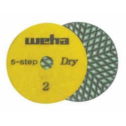 Dry Diamond Polishing Pad 5 Step - Step 2 Part#  D5S42