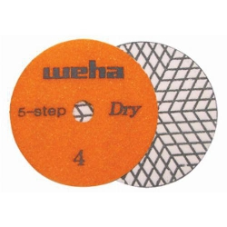Dry Diamond Polishing Pad 5 Step - Step 4 Part#  D5S44