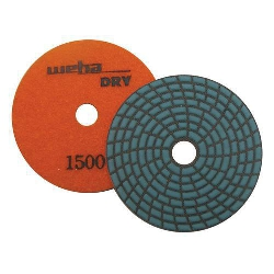 Dry Diamond Polishing Pad Spiral Brick - 1500 Grit Part#  DPS41500
