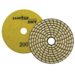 Dry Diamond Polishing Pad Spiral Brick - 200 Grit Part#  DPS4200
