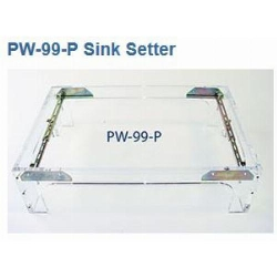 Sink Setter PW-99-P Brass Under mount Sink Installation Kit Part # PW99P