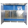 Dry Dust Collection Booth, Automatic Dry Dust Collector, Granite Dust Collector, Filter Project, Part # TEC714