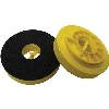 "4"" Snail Lock Velcro Back-Up Pad Thick Part#  VZ051042"