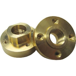 Part # VZ051055 Weha Brass Quad Adapter