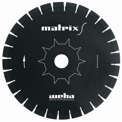 "14"" Weha Matrix S Diamond Bridge Saw Blade, Sawjet Blade, CNC Sawjet Blade Part#  VZ051413"